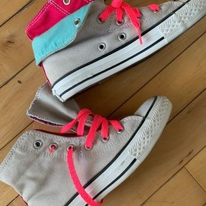 Girls Converse Shoes 1